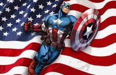 Avengers Superheroes, Marvel Avengers, Marvel Comics, Superhero Pop Art, Captain America Art, Hulk Comic, Captain American, Pop Art Illustration, Comic Pictures