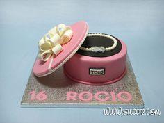Tarta joyero con pulsera de Tous - Jeweller with Tous bracelet Cake