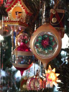 Polish Glass Balls by vintage christmas, via Flickr