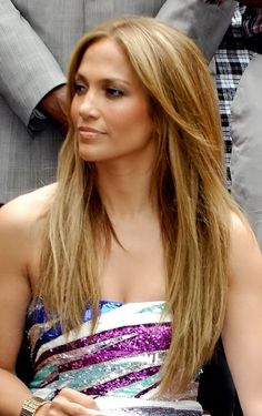 Jennifer Lopez Hair Color Commercial