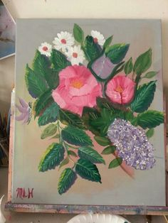 Oil painting still learning