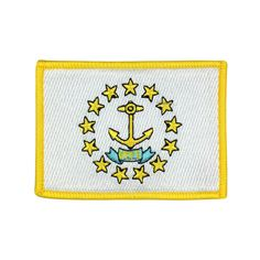 State of Rhode Island and Providence Plantations Flag Patch US Embroidered Patch Gold Border Iron On patch Sew on Patch badge Patch patch iron on patch flag patch Gold Border Patches sew on patch Embroidered patch iron on patches United State United State Flag Rhode Island Rhode Island flag Rhode Island patch meet you on www.Fleckenworld.com Flag Patches, Sew On Patches, Iron On Patches, Advertising And Promotion, Embroidered Patch, Vinyl Lettering, Rhode Island, Party Printables, Holiday Crafts
