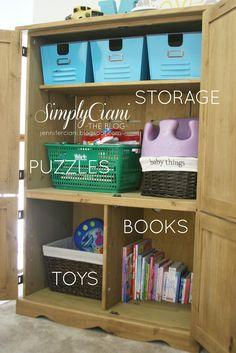 Simply Ciani: Creative Toy Organization & Organizing Solutions