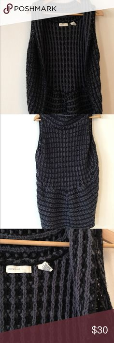 Anthropologie Sleeping on Snow sweater vest Anthropologie Sleeping on Snow sweater vest. Grey/black. Very good condition. Size small/medium Anthropologie Sweaters