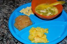 Corn Casserole & Chicken Noodle Soup