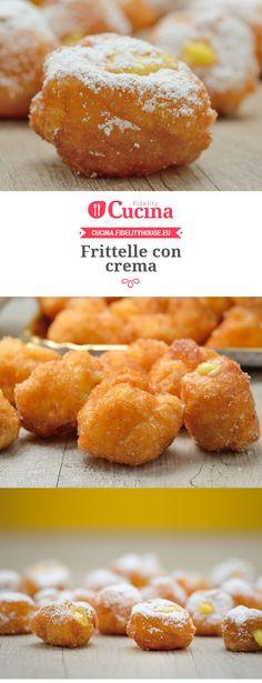 Frittelle con crema