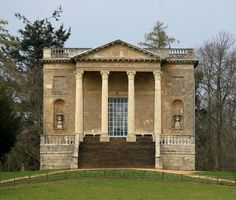 The Queen's Temple: Stowe Landscape Gardens by curry15, via Flickr