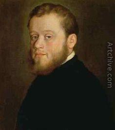 Portrait of a Young Man - Giovanni Battista Moroni