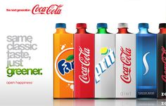 Eco Coke Bottle design.