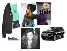 """""""Madison Harry and Katy in the car *rp"""" by maddiemoxly ❤ liked on Polyvore featuring Jack Wills and Vans"""
