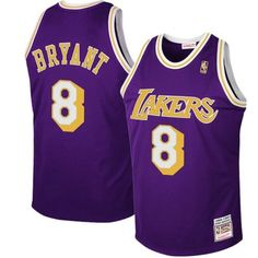 Shop for Kobe Bryant Mitchell   Ness Los Angeles Lakers Purple 1997  Hardwood Classics Jersey Super Deals at Footseek. Browse a abnormality of  styles and ... 0af219457