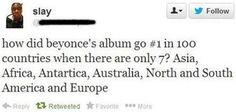 2002 Beyoncé Countries