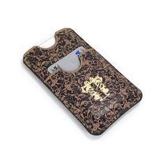 Leather iPhone phone card case / Smartphone wallet by tovicorrie, $63.00