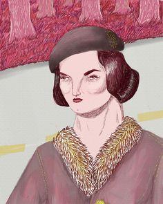 from Artisticmoods.com:  pencil portraits by Katty Huertas