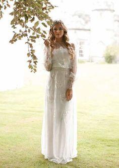 Claire Pettibone 'Peace' wedding dress
