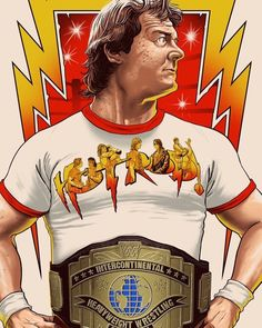 Wrestling Quotes, Wrestling Posters, Wrestling Wwe, Famous Wrestlers, Female Wrestlers, Wwe Wrestlers, Wwe Championship Belts, Eric Bischoff, Roddy Piper