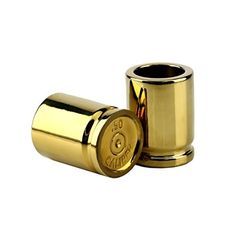 barbuzzo 50 caliber shot glass set of 2 shot glasses shaped like bullet casings step up to the bar line em up and take your best shot great addition to the mancave each shot holds 2 ounces, As Shown Drinking Games For Two, Spirit Glasses, Shot Glass Set, Bullet Casing, Ppr, Take My Money, Gifts For Father, Cool Gadgets, The Ordinary