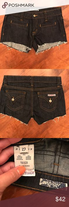 Hudson Jean Shorts Size 27 Perfect condition!  Check out my closet for trendy beaded bracelets with chains! Hudson Jeans Shorts Jean Shorts