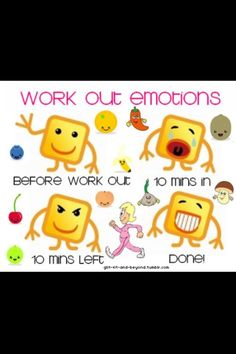 Work out moods