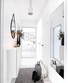 :) Entry Hallway, Entry Doors, Oversized Mirror, Furniture, Home Decor, Decoration Home, Entrance Doors, Room Decor, Home Furnishings