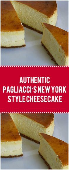 Authentic Pagliacci's New York Style Cheesecake – Quick Family Recipes