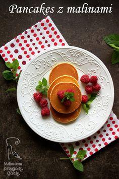 Kulinarne przygody Gatity: Pancakes (placuszki) z malinami