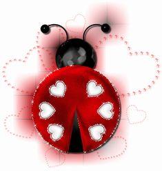 Ladybug glitter gifs