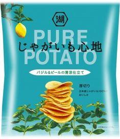 ピュアなポテトが夏空のような爽やかな味わいにじゃがいも心地 バジルピールの清涼仕立て 新登場 Potatoes, Pure Products, Japan, Food And Drink, Potato, Japanese Dishes
