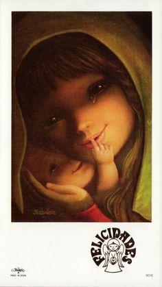 The Visual Poetry of Juan Ferrándiz: MOTHER OF GOD