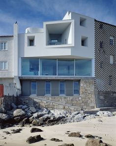 David Chipperfield Architects – Private House in Corrubedo