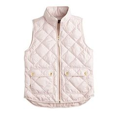 Excursion quilted down vest : puffer | J.Crew http://weardownjacket.blogspot.com/  how pretty with this fashion CAOT! 2014 CANADA GOOSE JACKET discount for you! $169.99