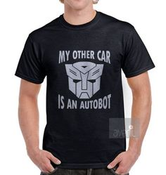My Other Car is an Autobot Transformer Funny by AVERILteesNprints, $17.99