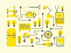 Icons, Symbols & Pictograms / Positive Electric