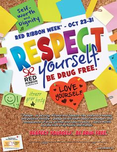 Respect Yourself. Be Drug Free.™ Commitment Certificates