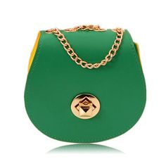 Designer Green Handbag
