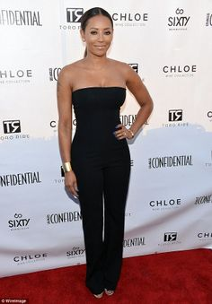 Robin Wright and Mel B prove simplicity is best in black ensembles Jennifer Lopez Images, All Black Outfit, Black Outfits, Crazy Celebrities, Star Fashion, Fashion Outfits, Cute Jumpers, Robin Wright, British Fashion Awards