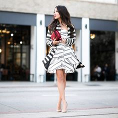 """New blog post [2.27.15]! New beginnings with a stripe mix on www.wendyslookbook.com 