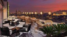 Enjoy Barcelona hotels terraces!!