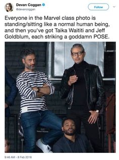 10 year anniversary, and Taika being Taika