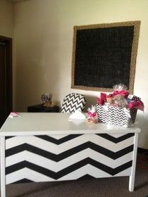 Classroom makeover chevron style!! ok, maybe next year's summer project on my desk unless I go with chevron contact paper.
