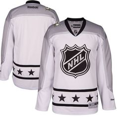 abf656044cd Metropolitan Division Reebok 2017 NHL All-Star Premier Blank Jersey - White Nhl  All Star