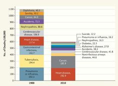 """Interesting change in death rates """"@digg: What causes death in America, in one chart (http://di.gg/1xe5DMg) """""""