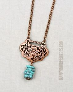 Copper + Turquoise D