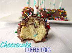 Cheesecake Truffle Pops @Liz Hankins