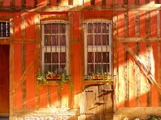 Troyes, France, lovely timbered architecture ~ photo by Miguel Angel