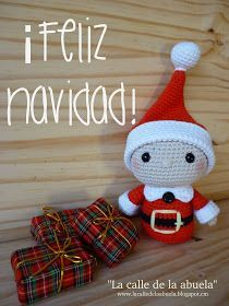 Border on hat.ws of sc Crochet Santa, Christmas Crochet Patterns, Crochet Gifts, Crochet Toys, Christmas Yarn, Nordic Christmas, Christmas Ornaments, Santa Claus Toys, Santa's Little Helper