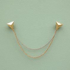 Triangle Collar Pins