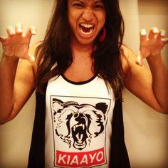 Bear pose photo art fashion fun popular mens womens other kuma CT nature tank tops