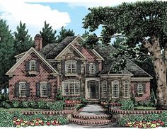 french country house plan with 3931 square feet and 4 bedrooms from dream home source