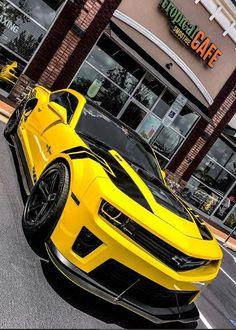 Cool Sports Cars, Sport Cars, Cool Cars, Camaro Car, Chevrolet Camaro, Lux Cars, High Performance Cars, Best Muscle Cars, Lamborghini Cars